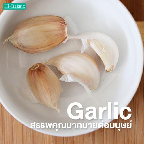 ทำความรู้จักกับสาร Allicin ในกระเทียม (Garlic )ที่มีสรรพคุณมากมายต่อมนุษย์