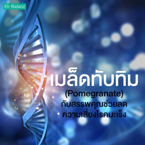 ไขความลับ สารสกัดจากเมล็ดทับทิม (Pomegranate) กับสรรพคุณที่ช่วยลดความเสี่ยงโรคมะเร็ง