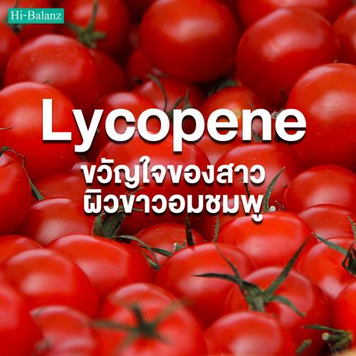 ไลโคพีน (Lycopene) สารสกัดจากมะเขือเทศ สารอาหารขวัญใจของสาวผิวขาวอมชมพู