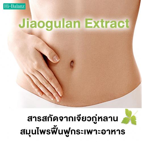 สารสกัดจากเจียวกู่หลาน (Jiaogulan Extract) สมุนไพรฟื้นฟูกระเพาะอาหาร