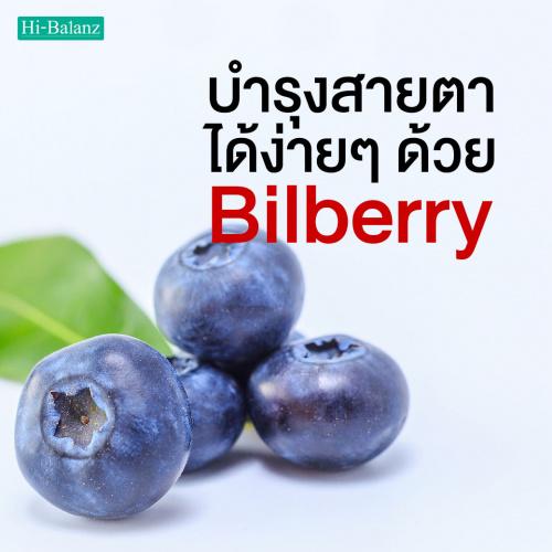 บำรุงสายตาได้ง่าย ๆ ด้วย สารสกัดจากบิลเบอร์รี่ (Bilberry)