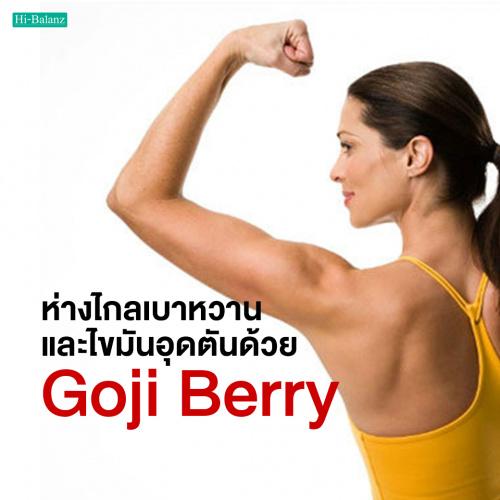 ห่างไกลเบาหวานและไขมันอุดตันด้วยโกจิเบอร์รี่ (Goji Berry)